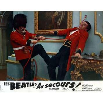 HELP Lobby Card 9x12 in. - N11 1965 - Richard Lester, The Beatles