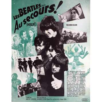 HELP Synopsis 21x30 cm - 1965 - The Beatles, Richard Lester