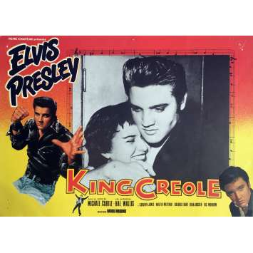 KING CREOLE Lobby Card 9,5x12 in. - N02 R1970 - Michael Curtiz, Elvis Presley