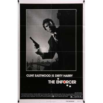 L'INSPECTEUR NE RENONCE JAMAIS Affiche de film 69x104 cm - 1976 - Clint Eastwood, James Fargo
