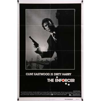 THE ENFORCER Movie Poster 29x41 in. - 1976 - James Fargo, Clint Eastwood