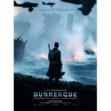 DUNKIRK Movie Poster 15x21 in. - Prev. 2017 - Christopher Nolan, Tom Hardy
