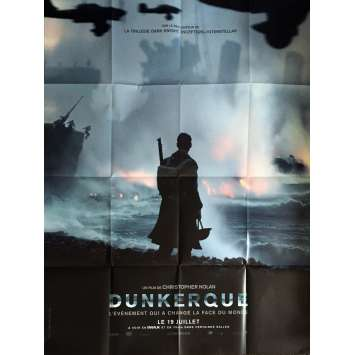 DUNKERQUE Affiche de film 120x160 cm - Prev. 2017 - Tom Hardy, Christopher Nolan