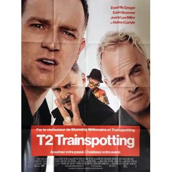 T2 TRAINSPOTTING Affiche de film 120x160 cm - Def. 2017 - Ewan McGregor, Danny Boyle