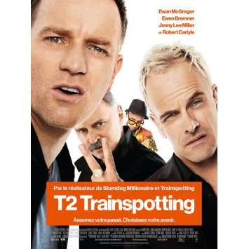 T2 TRAINSPOTTING Movie Poster 15x21 in. - Def. 2017 - Danny Boyle, Ewan McGregor