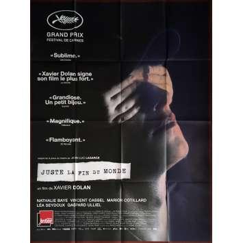 JUSTE LA FIN DU MONDE Affiche de film 120x160 cm - 2016 - Nathalie Baye, Xavier Dolan