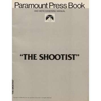 LE DERNIER DES GEANTS Dossier de presse 20x30 cm - 1976 - John Wayne, Don Siegel