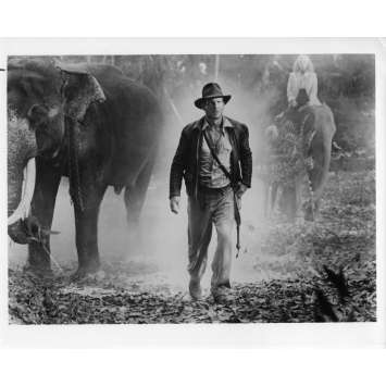 INDIANA JONES ET LE TEMPLE MAUDIT Photo de presse 21x30 cm - N15 1984 - Harrison Ford, Steven Spielberg