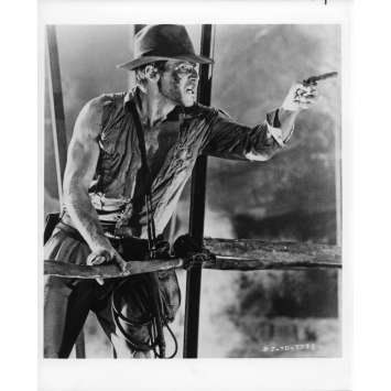 INDIANA JONES ET LE TEMPLE MAUDIT Photo de presse 21x30 cm - N13 1984 - Harrison Ford, Steven Spielberg