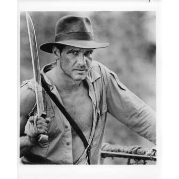 INDIANA JONES ET LE TEMPLE MAUDIT Photo de presse 21x30 cm - N12 1984 - Harrison Ford, Steven Spielberg
