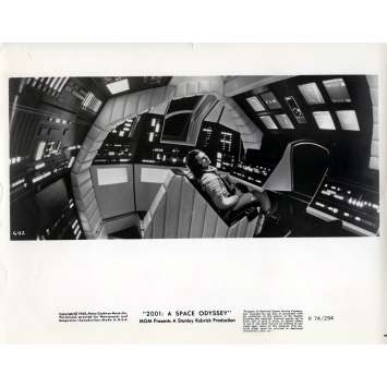 2001 A SPACE ODYSSEY Movie Still 8x10 in. - N22 1968 - Stanley Kubrick, Keir Dullea