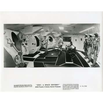 2001 A SPACE ODYSSEY Movie Still 8x10 in. - N21 1968 - Stanley Kubrick, Keir Dullea