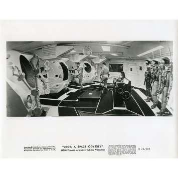 2001 L'ODYSSEE DE L'ESPACE Photo de presse 20x25 cm - N21 1968 - Keir Dullea, Stanley Kubrick