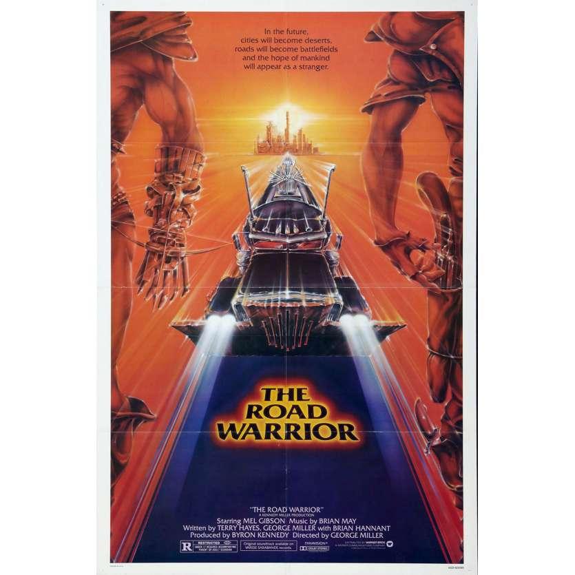 MAD MAX 2 Mel Gibson Affiche du film USA 1982