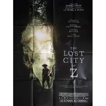 THE LOST CITY OF Z Movie Poster 47x63 in. - 2017 - James Gray, Robert Pattinson