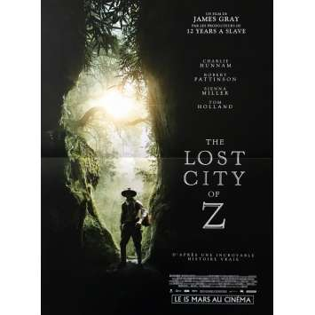 THE LOST CITY OF Z Movie Poster 15x21 in. - 2017 - James Gray, Robert Pattinson