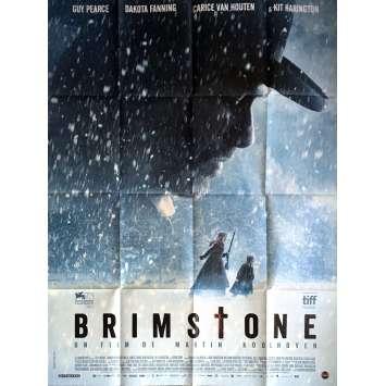 BRIMSTONE Affiche de film 120x160 cm - 2017 - Kit Harington, Martin Koolhoven