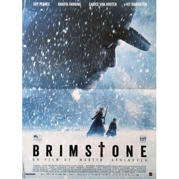 BRIMSTONE Affiche de film 40x60 cm - 2017 - Kit Harington, Martin Koolhoven