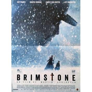 BRIMSTONE Movie Poster 15x21 in. - 2017 - Martin Koolhoven, Kit Harington