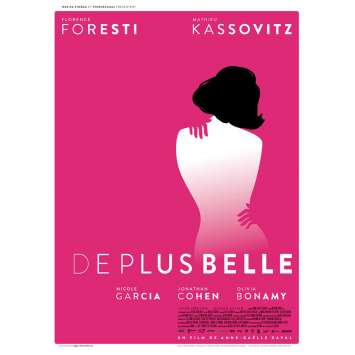 DE PLUS BELLE Movie Poster 15x21 in. - 2017 - Anne-Gaëlle Daval, Florence Foresti