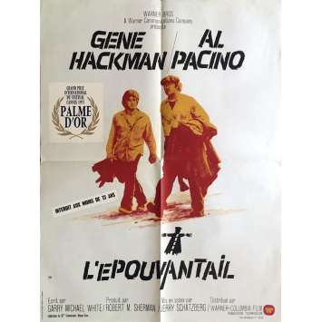 L'EPOUVANTAIL Affiche de film 60x80 cm - 1973 - Al Pacino, Jerry Schatzberg