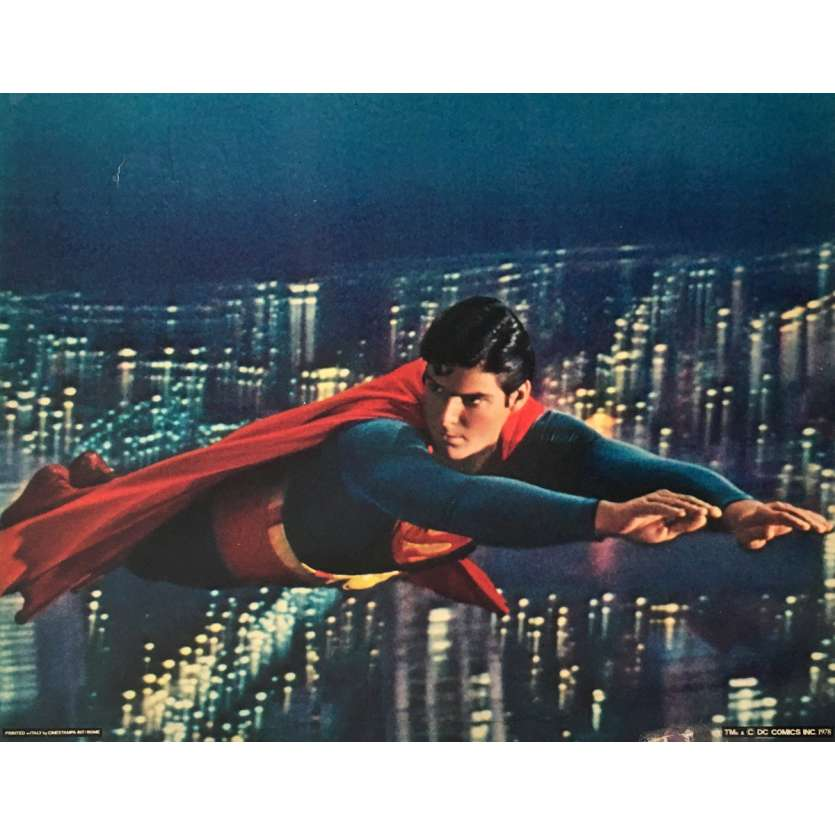 SUPERMAN Photo de film 28x36 cm - N03 1978 - Christopher Reeves, Richard Donner