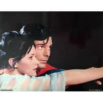 SUPERMAN DeLuxe Lobby Card 11x14 in. - N01 1978 - Richard Donner, Christopher Reeves