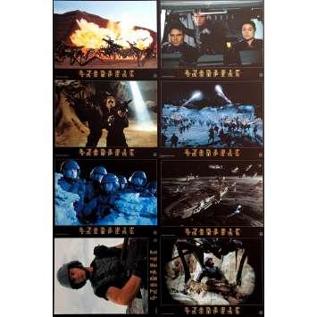 STARSHIP TROOPERS Lobby Card set 9x12 in. - 1997 - Paul Verhoeven, Denise Richard