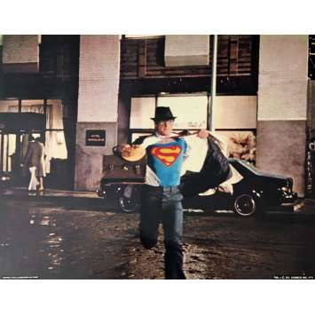 SUPERMAN DeLuxe Lobby Card 11x14 in. - N02 1978 - Richard Donner, Christopher Reeves