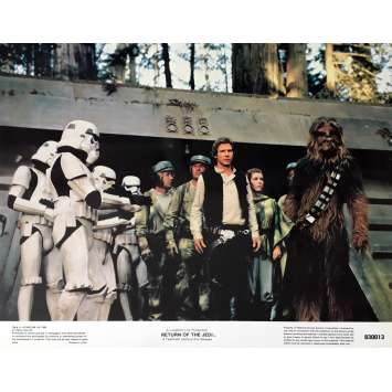 STAR WARS - LE RETOUR DU JEDI Photo de film 28x36 cm - N01 R1985 - Harrison Ford, Richard Marquand