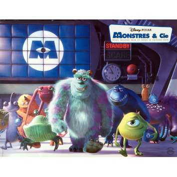 MONSTERS INC Lobby Card 11x14 in. - N01 2001 - Pixar, John Goodman