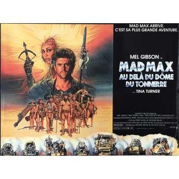 MAD MAX 3 Dossier de presse 21x30 cm - 1985 - Mel Gibson, Tina Turner, George Miller