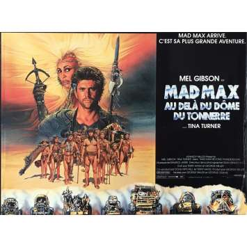 MAD MAX 3 Pressbook 9x12 in. - 1985 - George Miller, Mel Gibson, Tina Turner