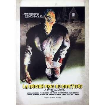 LA MAISON PRES DU CIMETIERE Synopsis 21x30 cm - 1981 - Catriona McColl, Lucio Fulci