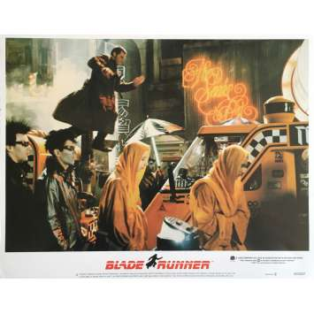 BLADE RUNNER Photo de film 28x36 cm - N01 1982 - Harrison Ford, Ridley Scott