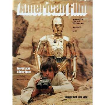 AMERICAN FILM : STAR WARS Magazine 8x10 in. - 1976 - George Lucas, Harrison Ford