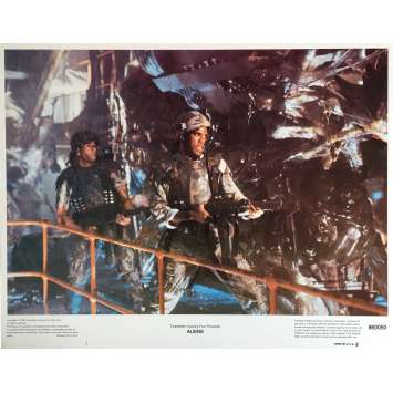 ALIENS Lobby Card 11x14 in. - N03 1986 - James Cameron, Sigourney Weaver