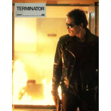 TERMINATOR Photo de film 21x30 cm - N12 1983 - Arnold Schwarzenegger, James Cameron