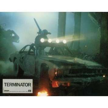 TERMINATOR Lobby Card 9x12 in. - N11 1983 - James Cameron, Arnold Schwarzenegger