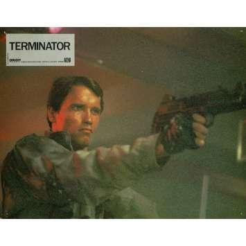 TERMINATOR Lobby Card 9x12 in. - N10 1983 - James Cameron, Arnold Schwarzenegger