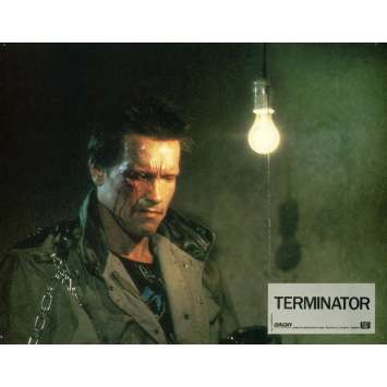 TERMINATOR Photo de film 21x30 cm - N09 1983 - Arnold Schwarzenegger, James Cameron