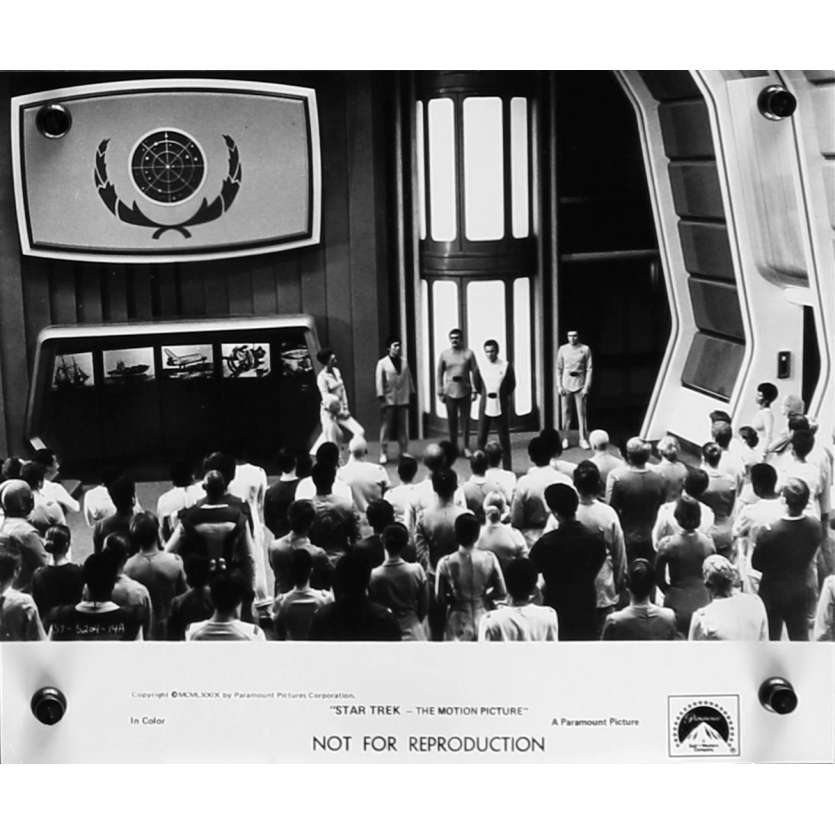 STAR TREK Photo de presse 20x25 cm - N06 1979 - William Shatner, Robert Wise