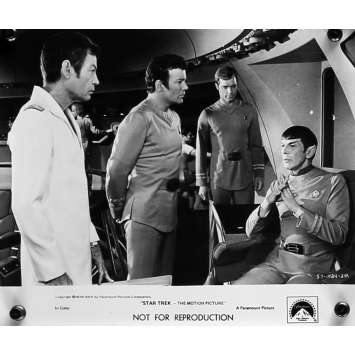 STAR TREK Movie Still 8x10 in. - N03 1979 - Robert Wise, William Shatner