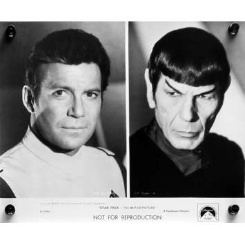 STAR TREK Movie Still 8x10 in. - N02 1979 - Robert Wise, William Shatner