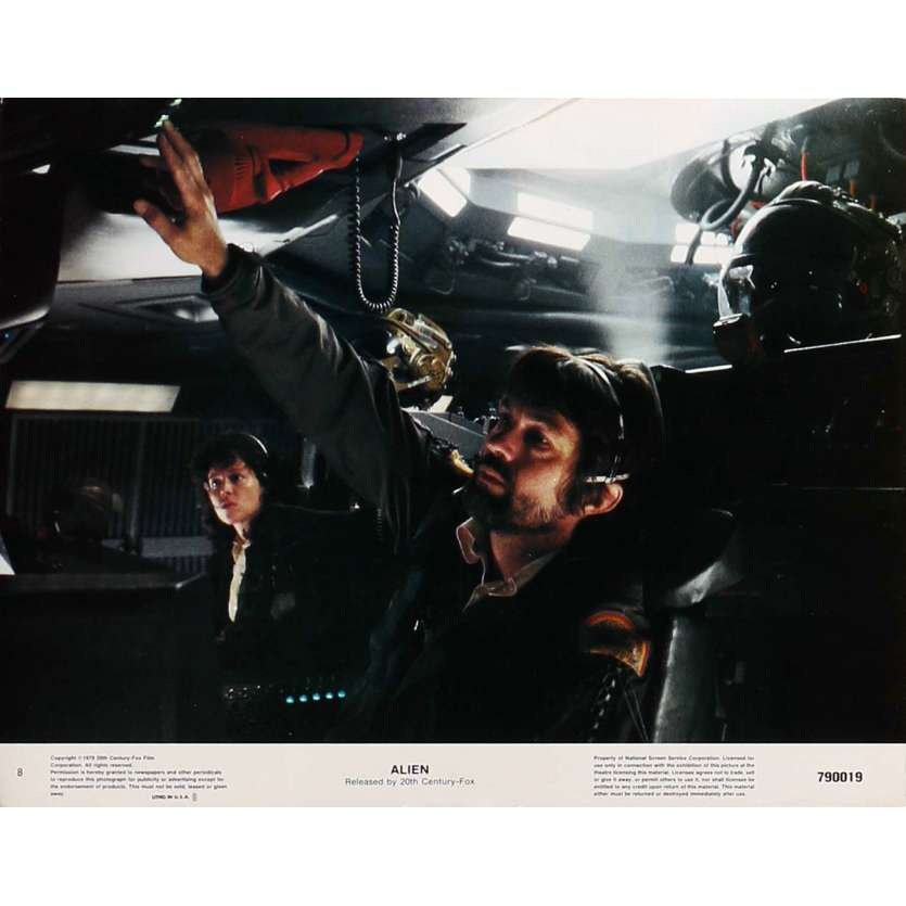 ALIEN Photo du film 28x36 US '79 Ridley Scott LC N8