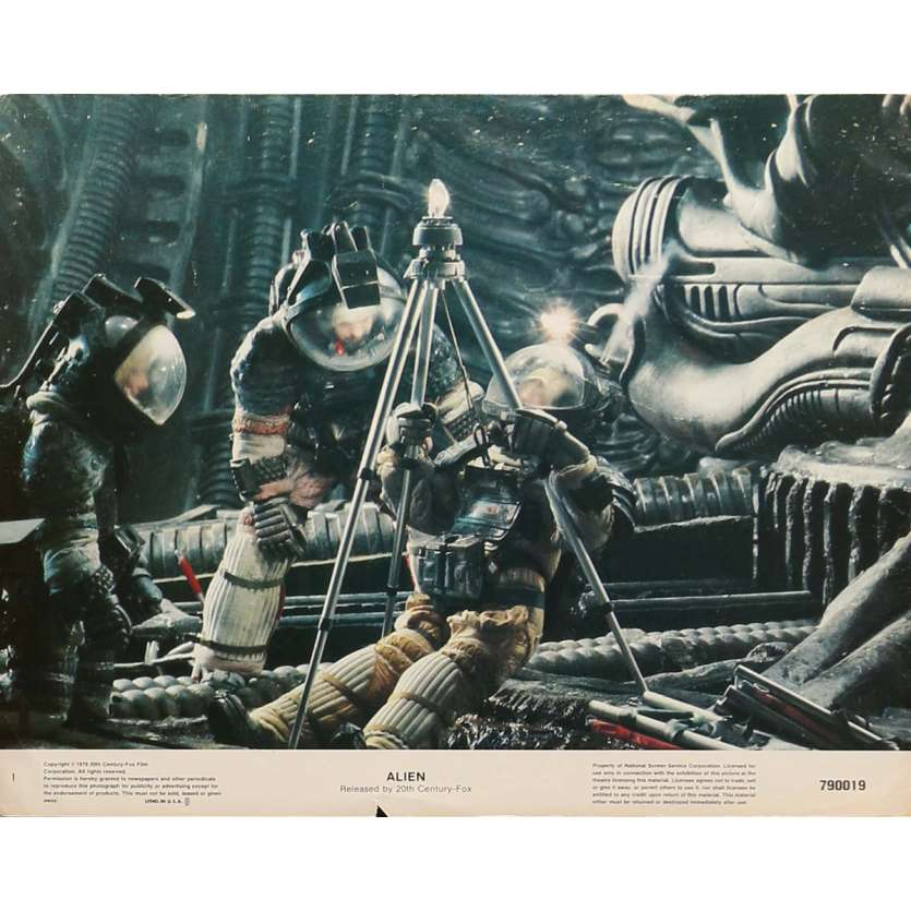ALIEN Photo du film 28x36 US '79 Ridley Scott LC N1
