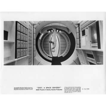 2001 A SPACE ODYSSEY Movie Still N18 8x10 in. - R1974 - Stanley Kubrick, Keir Dullea