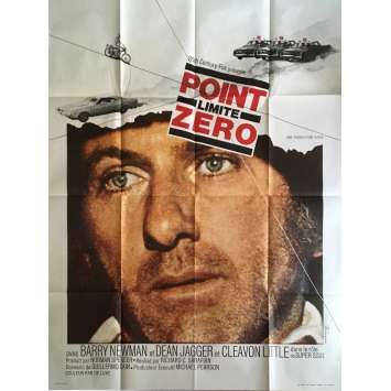 POINT LIMITE ZERO Affiche de Film 120x160 - 1971 - Barry Newman, Dodge charger poster