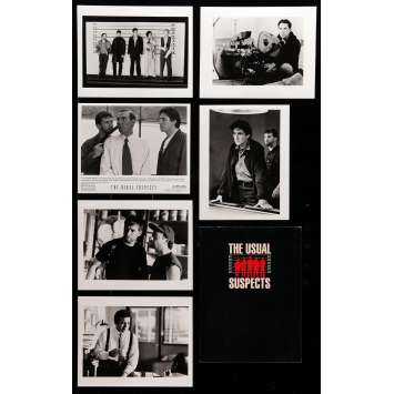 THE USUAL SUSPECTS Presskit 9x12 in. - 6 photos 1995 - Bryan Singer, Kevin Spacey