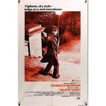 UN JUSTICIER DANS LA VILLE Affiche de film 69x101 cm - 1974 - Charles Bronson, Michael Winner